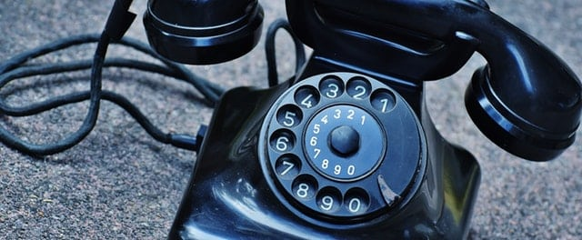 Llamada de emergencia telefono fijo