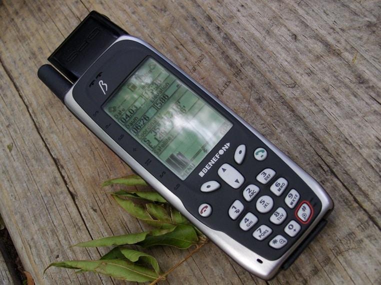 Primer telefono con GPS