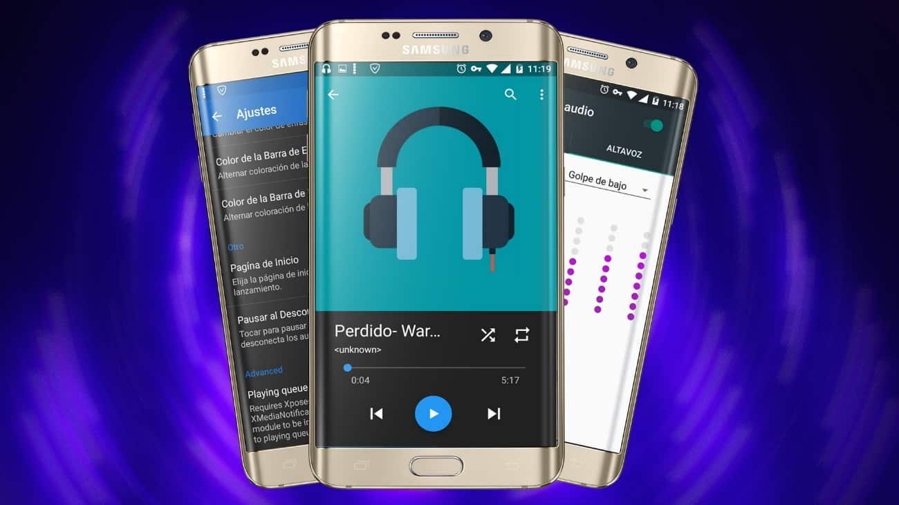 Mejores apps reproductores de musica para Android