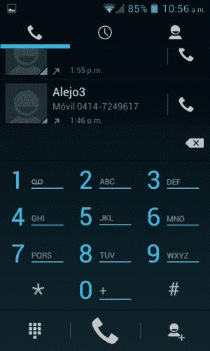 Códigos secretos en android