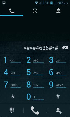 código *#*#4636#*#*
