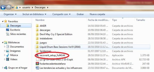 Recoverit-Wondershare recupera fotos eliminadas en windows con software