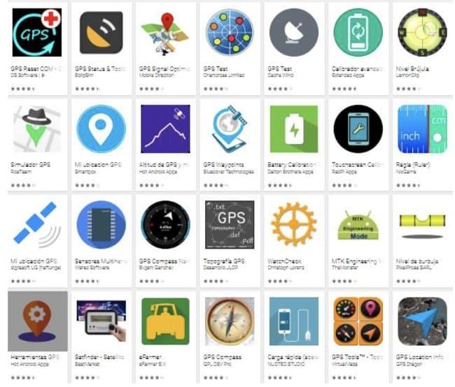 Calibrar gps usando apps