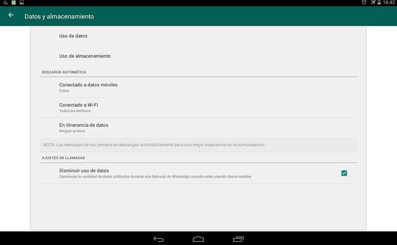 liberar espacio en whatsapp Android