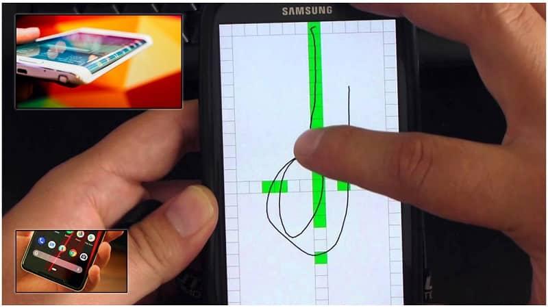 app calibrar pantalla táctil móvil android iphone