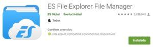 ES Explorador de Archivos