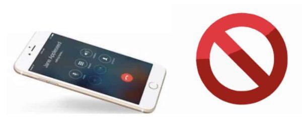 como bloquear llamadas ocultas en iPhone