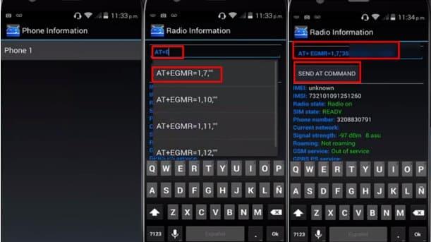 change IMEI code in engineer mode