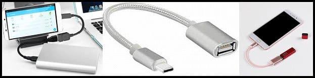 Características de los cables OTG