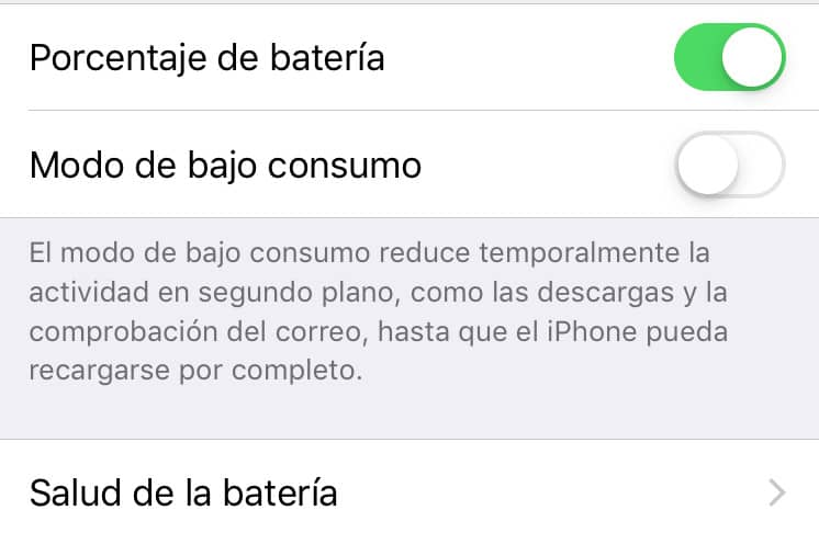 calibrar bateria de un iPhone o iPad