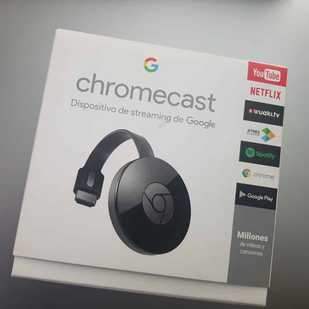 chromecast para ver movil en smart tv