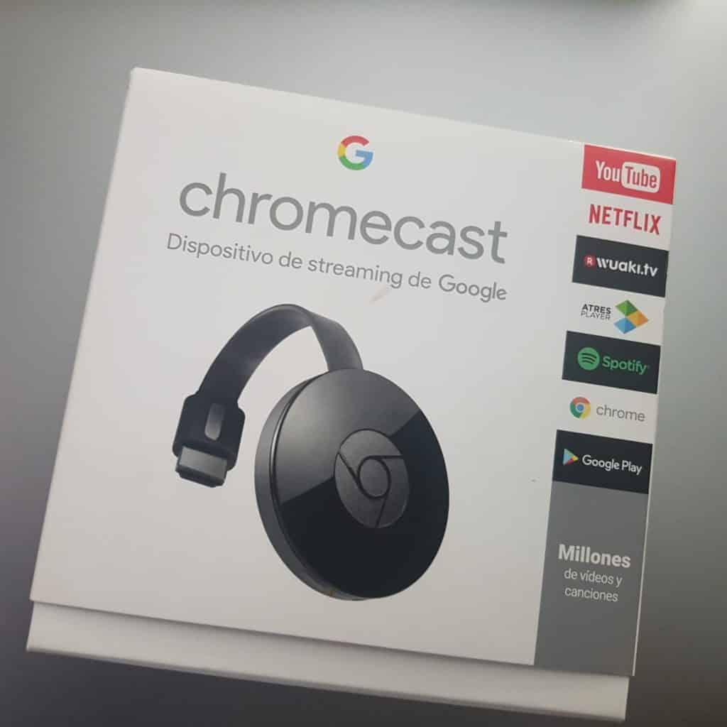 chromecast para ver movil en smart tv