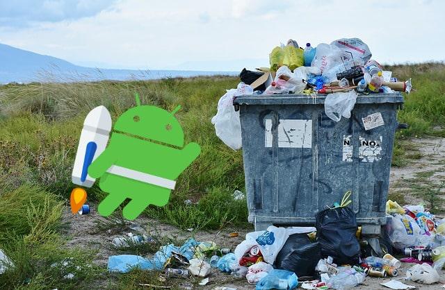 quitar basura de tu dispositivo android