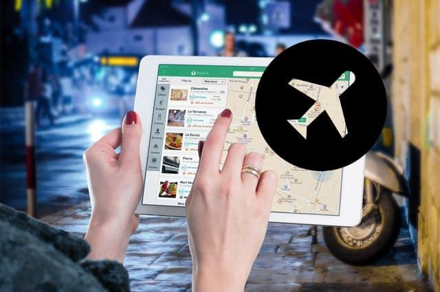 google maps para el viajero