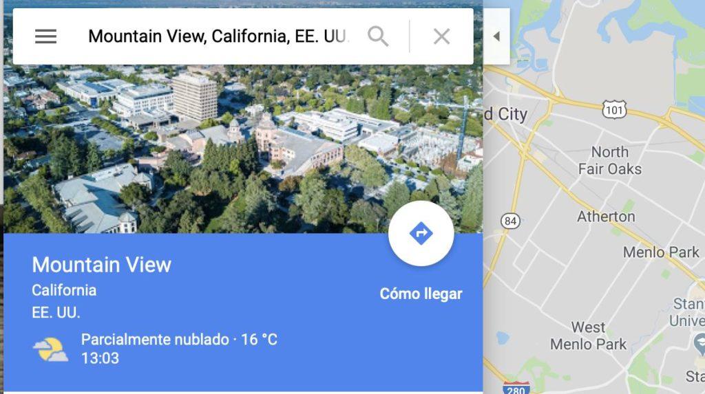Google Maps para viajeros