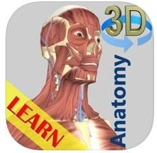 anatomy : app para estudiar la anatomía del cuerpo humano