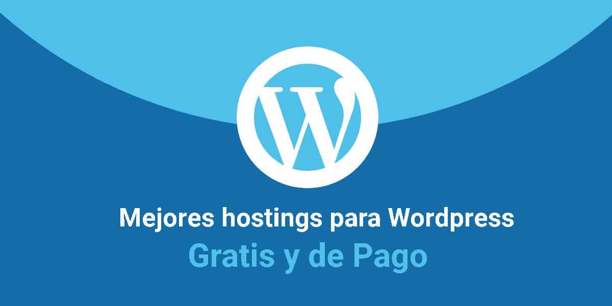 Mejores hostings para wordpress