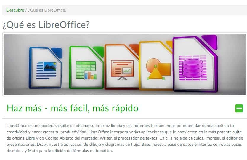 Descarga LibreOffice, la mejor alternativa a Office 365.