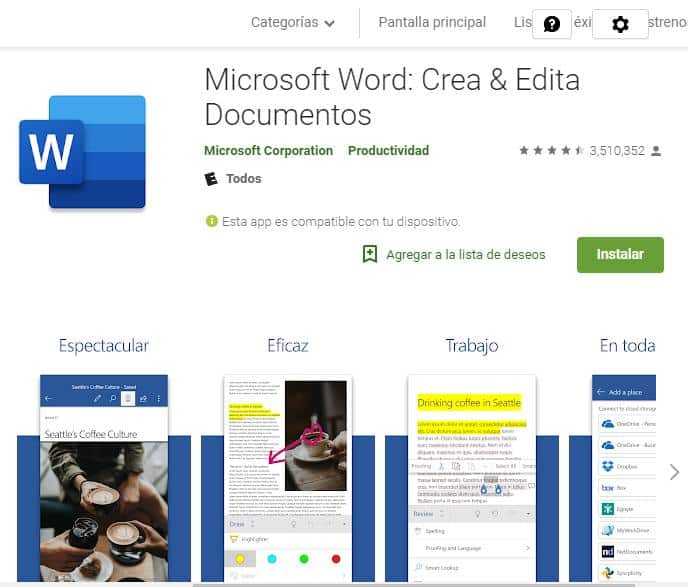 Microsoft Word: Crea & Edita Documentos.