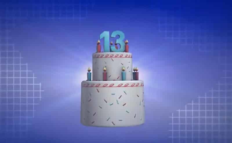 13 años aniversario de Roblox