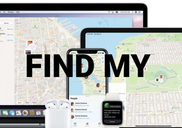 rastrear celular con apple find my