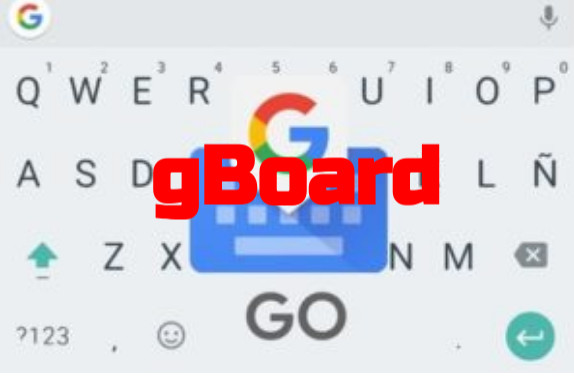 Teclado Android: gBoard