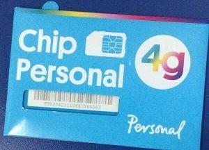 Como activar el chip de personal