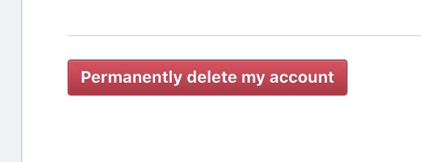 eliminar definitivamente tu cuenta de instagram