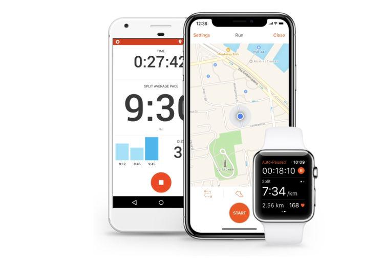 app sträva ubicación en tiempo real