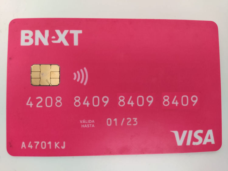 tarjeta debito bnext fintech