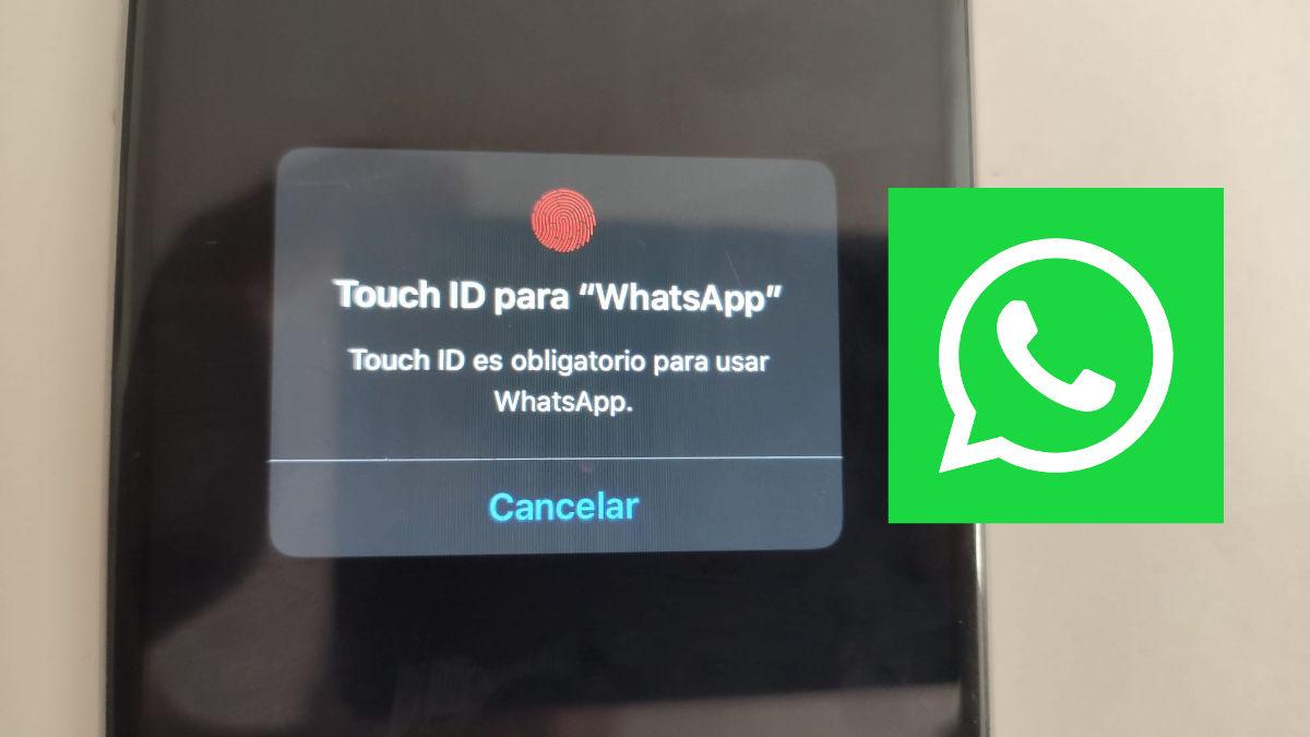activar bloqueo dactilar en whatsapp