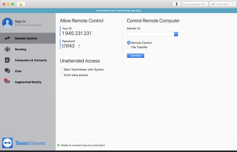 teamviewer software control remoto
