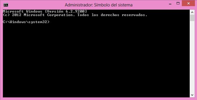 Cómo abrir la consola de comandos en Windows 10