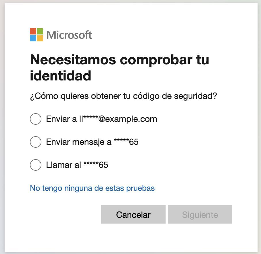 verificar identidad microsoft windows 10