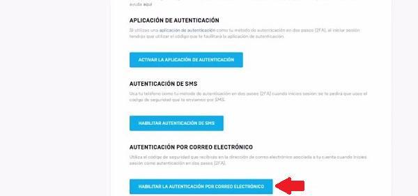 Activar la 2FA en Fortnite con el Correo Electrónico