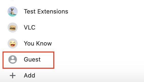 modo invitado de chrome o modo guest