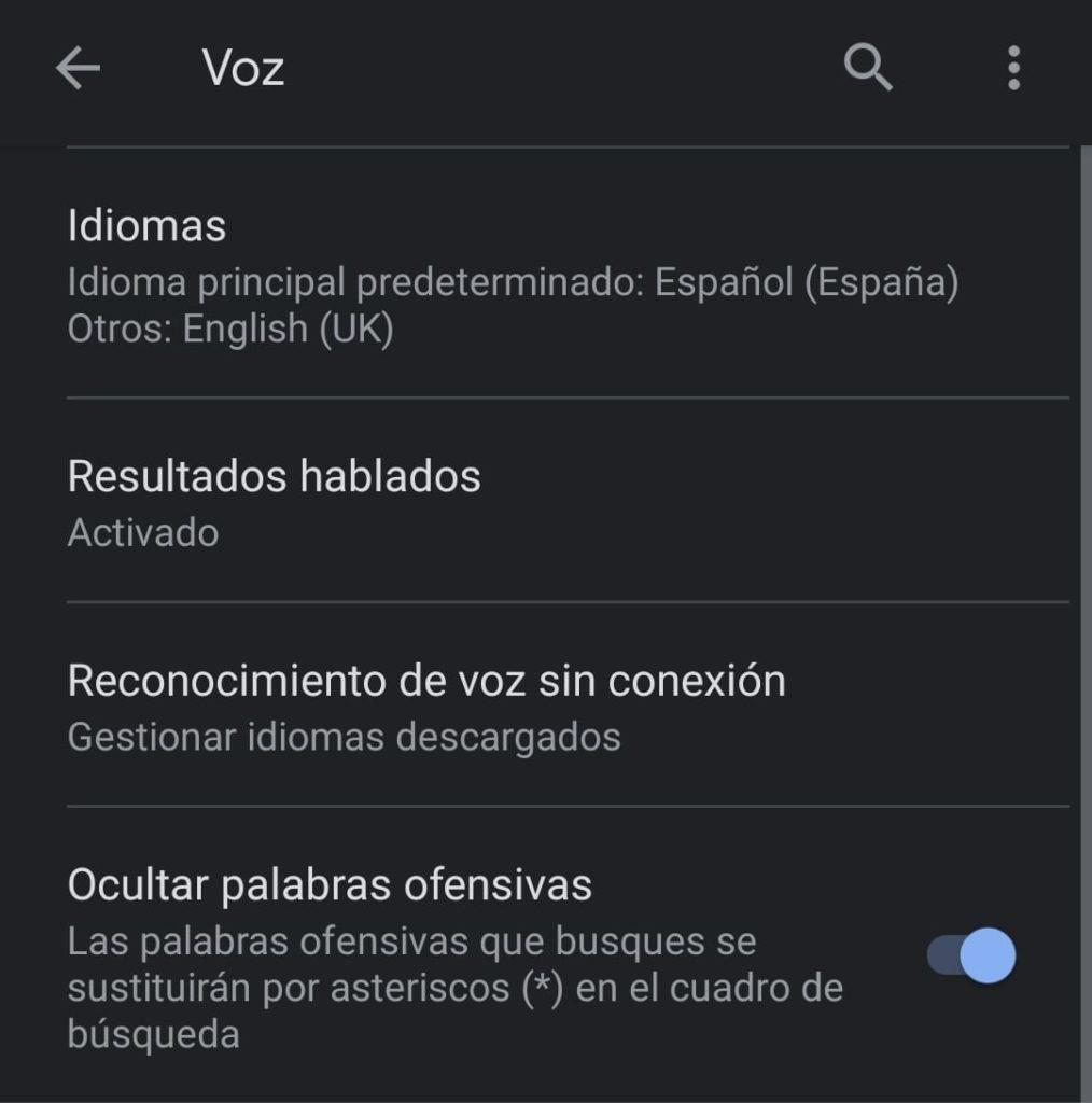 activar google voice