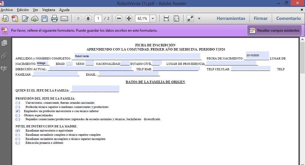 Cómo crear un PDF editable