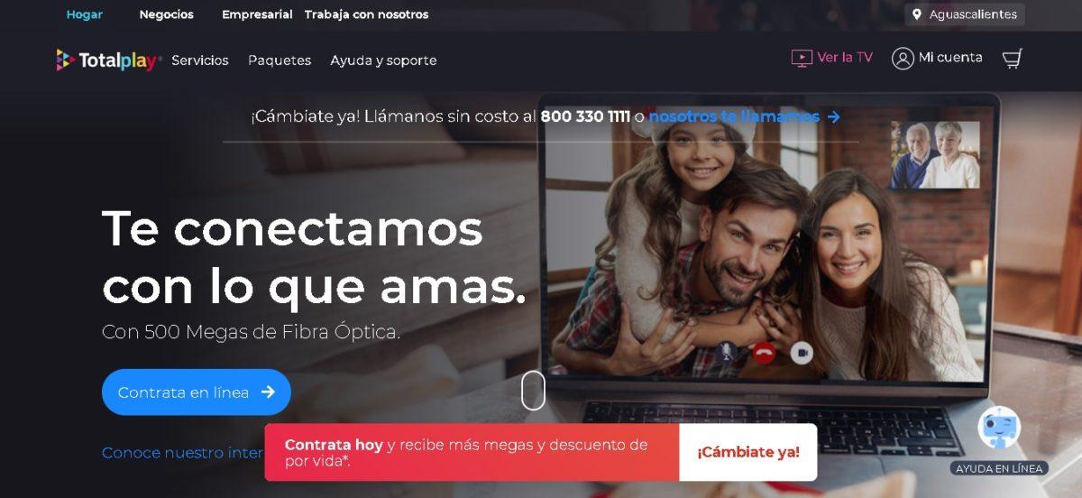cual es la cobertura de totalplay en mexico
