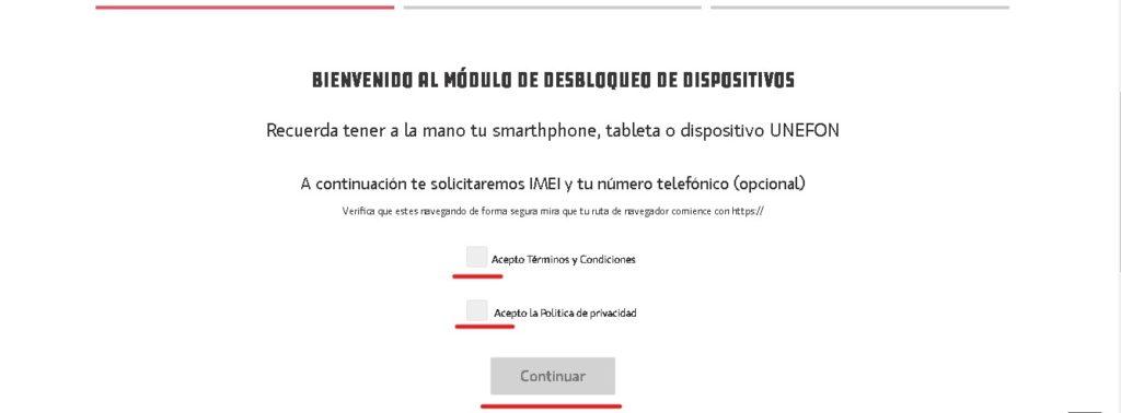 Cómo liberar un celular Unefon en México.