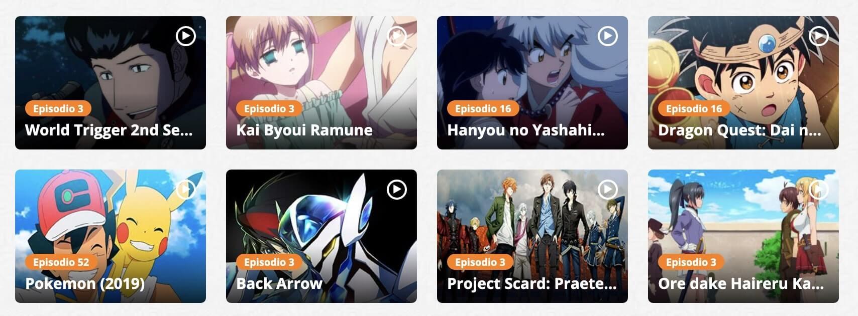 Ver anime gratis de forma legal