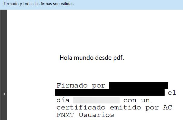 PDF firmado digitalmente por Autofirma, el cual muestra la firma visible de Autofirma.