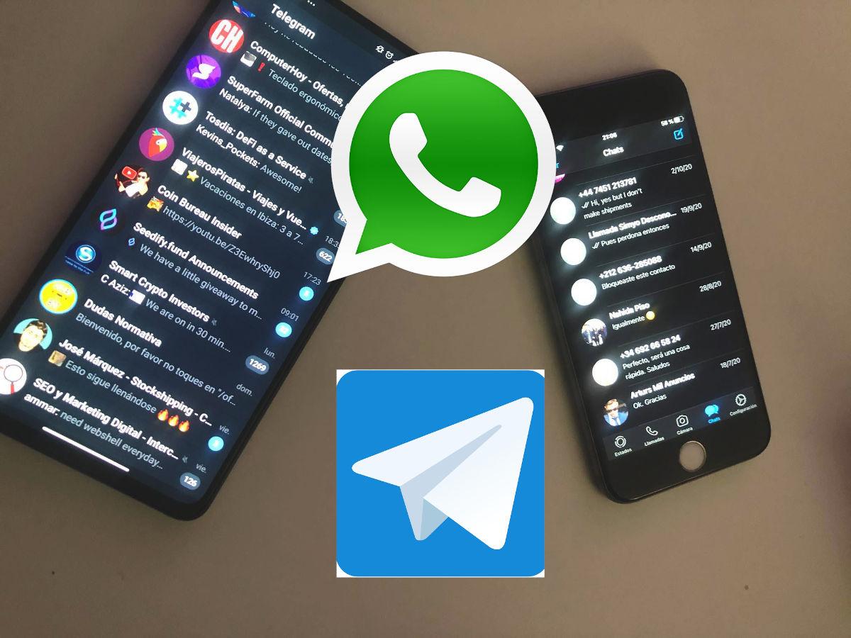 exportar chats de whatsapp a telegram