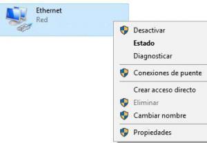 """Archivo con el nombre de la red a la que estás conectado, y el menú que aparece si le haces clic derecho a ese archivo. Se observa la opción """"Propiedades""""."""