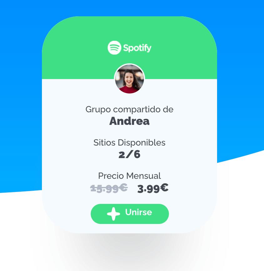 compartir cuenta de spotify en pulpo