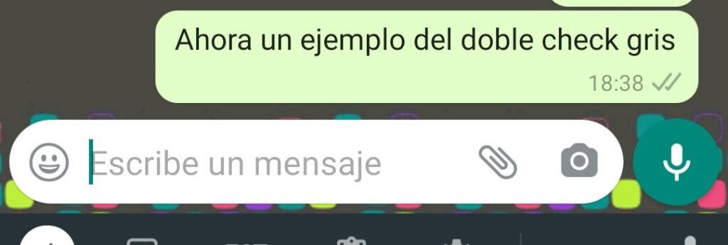 doble check gris whatsapp