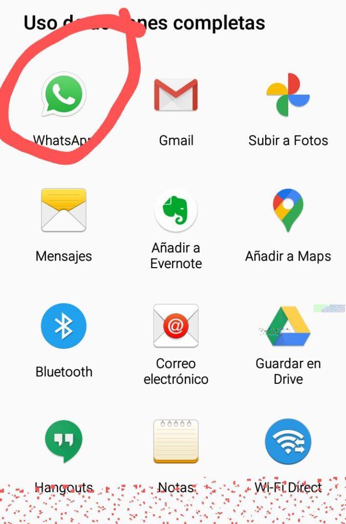 evita etiqueta reenviado en whatsapp
