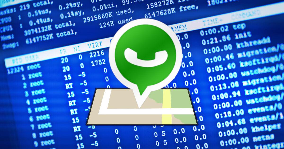 como conocer la ubicacion de un contacto de whatsapp