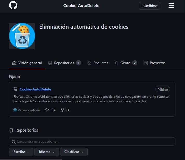 Cookie AutoDelete.