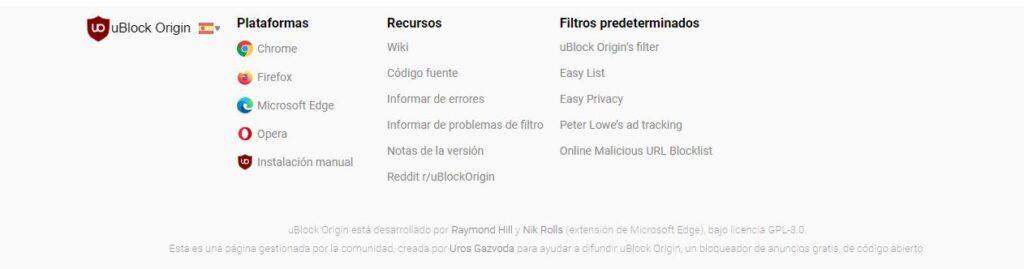 uBlock Origin.